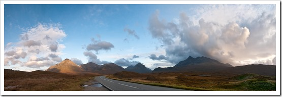 Road to the Cullin Hills