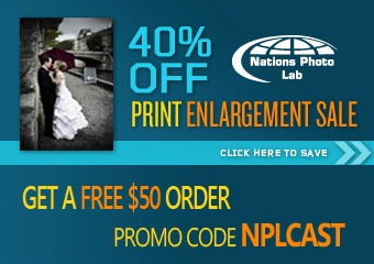 Nations Photo Lab 40% off print enlargements
